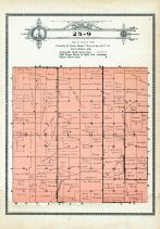 Township 25 Range 9, Deloit, Holt County 1915